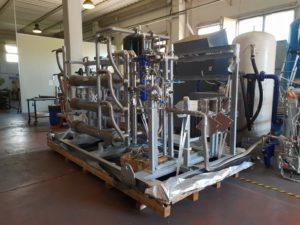 Мембранный генератор азота на пуско-наладочных испытаниях