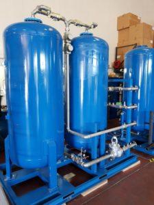 Адсорбционный генератор азота на пуско-наладочных испытаниях