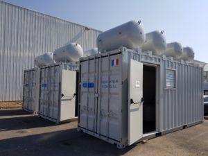 Адсорбционный генератор кислорода контейнерного исполнения